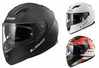 LS2 FF320 Stream Evo Motorcycle Motorbike Full Face Sun Visor Touring Helmet