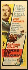 Tunes of Glory (1960) - original movie poster - Alec Guinness Susannah York