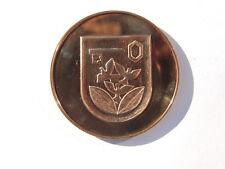 H. Re, 1989 (e725) R. Paulick città stemma ha-NUOVO LANTERNE fisso Halle cu
