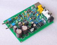 Finished  WM8740+DIR9001 DAC Board Decoder Board AC9-12V Coaxial input