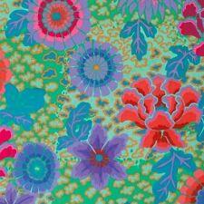 Kaffe Fassett Dream Floral PWGP148 Aqua/Green Spring 2015 Collection BTY