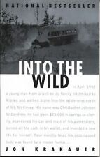 """INTO THE WILD"" book by Jon Krakauer ( Paperback) 1997 Anchor Books"