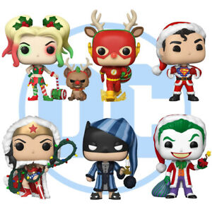 Official DC Christmas Special Justice League Batman Funko Pop Vinyl Figures