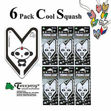 6 Pack Treefrog Young Leaf Cool Squash Hanging Air Freshener Wakaba Shape