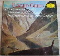 Edvard Grieg Peer-Gynt-Suiten Nr. 1 & 2 Richard Kraus DGG Stereo 135 043