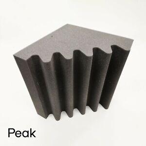 Bass trap foam UK made carbon neutral Soundproofing Studio foam 4 pack