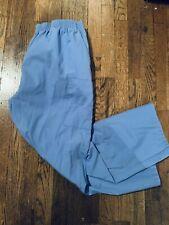 Dickies Scrubs Women's Elastic Waist Pant, 2Xl, Ceil Blue, Cargo Pockets, Euc
