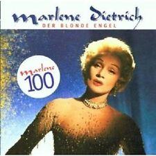"""MARLENE DIETRICH  """"DER BLONDE ENGEL/MARLENE 100"""" CD NEW+"""