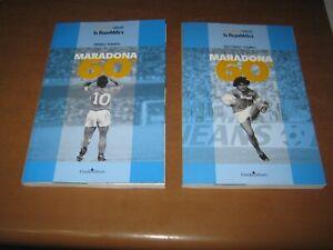 Maradona 60°Primo Tempo + Secondo tempo-2 Libri-NUOVO,super offerta