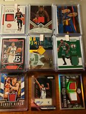 Basketball Inventory blowout!!  GAME USED JERSEY AUTO # RC LOT