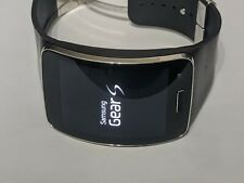 Sansung Galaxy Gear S  SM-R750P  Black Curved Smart Watch Barely Used