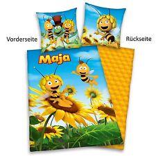 Herding Biene Maja 3D Bettwäsche, 40 x 60 cm + 100 x 135 cm mit Hoteleinschlag