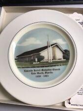 Lakeside United Methodist Church, Lake Work, Fl Collector'S Plate (41)