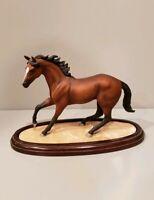 Vintage Lenox Champion Of The Wind Horse Sculpture Figurine Porcelain 1989