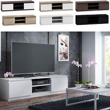 TV Schrank Lowboard Fernseher Schrank TV Möbel  Fernsehtisch Sonoma weiß