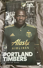 Portland Timbers Poster Nagbe Adidas Jersey Soccer MLS