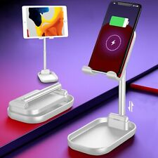 "2 in 1 Portable Wireless phone charger and iPhone/iPad/tablet(3.5-12.9"") stand"