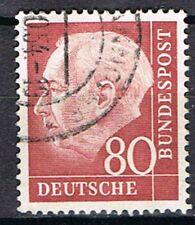 Germany 1954. President Heus. 80pf. Red.