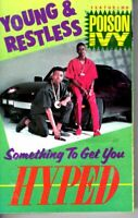 Young & Restless Something To Get You Hyped 1989 Cassette Tape Album Rap Hiphop