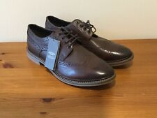 Mens Brown Leather Brogues Size 11 New