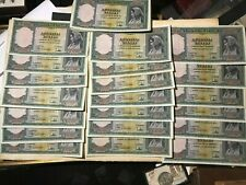 1000 Drachmai 1939  Lot of x35  Bank of Greece Hellenic Banknotes start 0.99