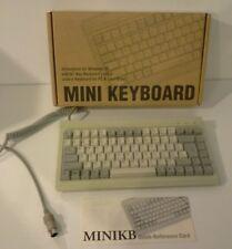 NIB Vintage Ortek Compact Mini MCK-84 5-Pin DIN Mechanical Clicky Keyboard