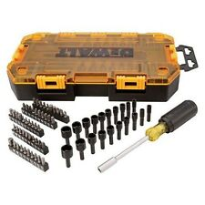 "Dewalt 70 Piece 1/4"" Multi-Bit & Nut Driver Set 21366"