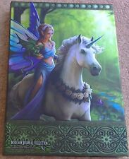 Anne Stokes REALM OF ENCHANTMENT Embossed Journal 17 x 13 cm notebook/sketchbook