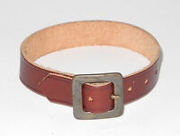 Original Steiff Zubehör Leder Halsband rot ca 15cm lang