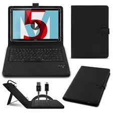 Tastatur Hülle Bluetooth Keyboard Tasche Huawei MediaPad M5 / Pro 10.8 QWERTZ
