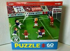 Soccer Jigsaw Puzzle 60 Piece Junior League by Eurographics Ages 4+ New Sealed