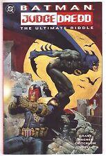 BATMAN & JUDGE DREDD: THE ULTIMATE RIDDLE NM  1995 DC COMICS