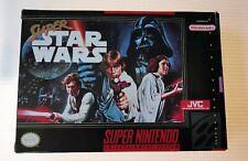 Super Star Wars Super Nintendo SNES NTSC usa los coleccionistas casi nuevo cartel