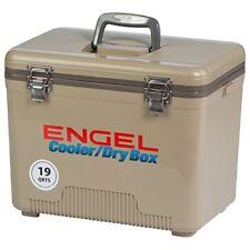 Engel Usa Cooler/Dry Box, 19-Quart, Tan Training Sporting Goods Fitness Strength