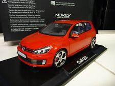 1:18 NOREV VW Golf 6 GTI rot red Dealer Edition NEU NEW
