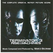 "Marco Beltrami:  ""Terminator 3 - Rise Of The Machines""  (Soundtrack Score CD)"