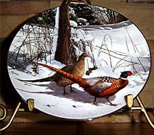 Early Winter Morning~The David Maass Pheasant Plate Collection