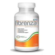 Fibrenza Systemic Enzyme, Detoxification, Anti-Inflammatory, 240 Capsules! NEW!