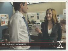 "The X-Files Season 10 ""Babylon"" DOUBLE-SIDED Promo Trading Card No.4"