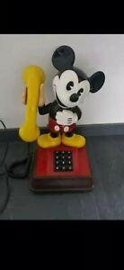 Micky Maus Telefon, Mickey Mouse, org. Zustand, Kult, Sammlerstück