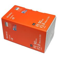 Sony FE 90mm F2.8 Macro G OSS Lens 90 f/2.8 SEL90M28G E-Mount Full Frame ~ NEW