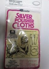 Cadie Silver Polish Cloths- specially treated cotton to clean silver and gold