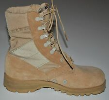 "Altama Men's Jungle 3LC 8"" Tan Leather Boots Vibram Soles PJ 07-07 Size 6M EUC"