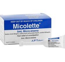 2 × Microlax Generic Micolette 5ml 12 Micro-Enema ozhealthexperts