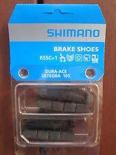 SHIMANO DURA ACE ULTEGRA 105 R55C + 1 BRAKE PAD INSERTS 2 PAIR **NEW**