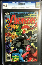 AVENGERS #188 CGC 9.4 JOHN BYRNE DAN GREEN 1979 WHITE PAGES
