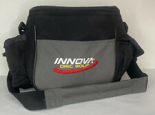Innova STANDARD Disc Golf Bag Holds 10+ Discs Black And Grey