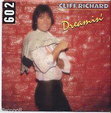 "CLIFF RICHARD - Dreamin' - VINYL 7"" 45 LP ITALY 1980 VG+ COVER  VG- CONDITION"