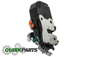 02-10 DODGE RAM TRUCKS FRONT LEFT POWER DOOR LATCH LOCK ACTUATOR OEM NEW MOPAR