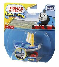 Thomas & Friends Take-n-Play Skiff Vehicle Cgt02 – Die-cast & Magnetic Engine
